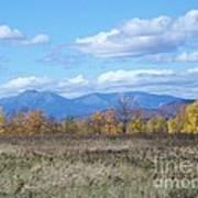 Mount Katahdin From Stacyville Art Print