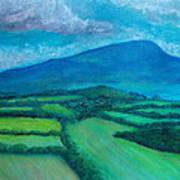 Mount Leinster Ireland Art Print
