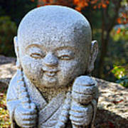 Mount Misen Buddha Art Print