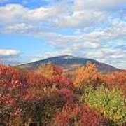 Mount Monadnock From Gap Mountain In Autumn Art Print