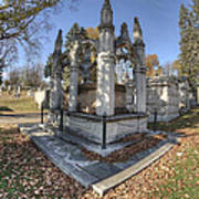 Mount Mora Cemetery 2 Art Print