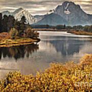 Mount Moran Art Print