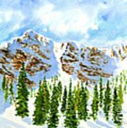 Mount Ogden Art Print