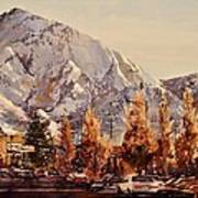 Mount Olympus Art Print