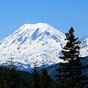 Mount Rainier Panorama Art Print