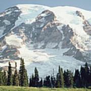 Mount Rainier Peak Art Print