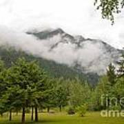 Mount Robson Provincial Park Art Print