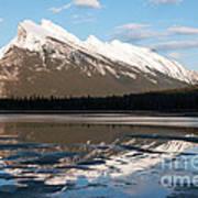 Mount Rundle Reflections Art Print