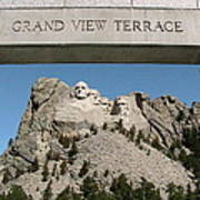 Mount Rushmore 3 Art Print