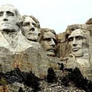 Mount Rushmore Presidents Art Print