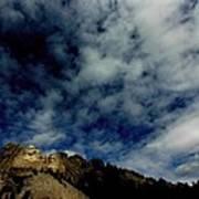Mount Rushmore South Dakota Art Print