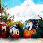 Mount Rustmore Castaway Cay Art Print