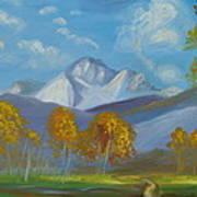 Mount Sneffels San Juan Mountains Colorado Art Print by Patricia Kimsey Bollinger