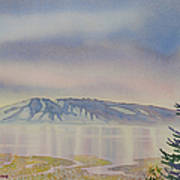 Mount Susitna Art Print
