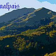 Mount Tamalpais 2013 Art Print