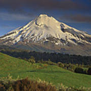 Mount Taranaki Western Flanks New Art Print