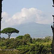 Mount Vesuvius Art Print
