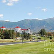 Mount Washington Hotel In New Hampshires White Mountains Art Print