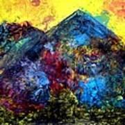 Mountain 120928-2 Art Print