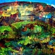Mountain 130125-4 Art Print