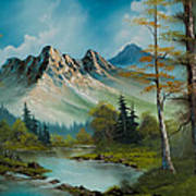 Mountain Retreat Art Print