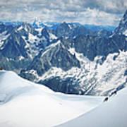 Mountain Climbers Art Print