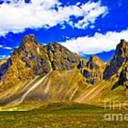 Mountain Crags Art Print