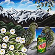 Mountain Dew Art Print