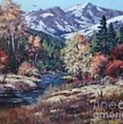 Mountain Glory Art Print by W  Scott Fenton