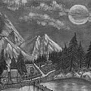 Mountain Home Art Print