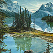 Mountain Island Sanctuary Art Print