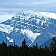 Mountain Meets The Sky Art Print