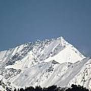 Mountain Of Peace - Himalayas Art Print