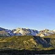 Mountain Panorama Art Print by Tom Wilbert