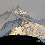 Mountain Peaks, Argentina Art Print
