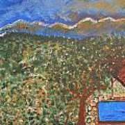 Mountain Pool Art Print