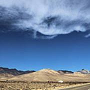 Mountain Range Of Sierra Nevada Art Print