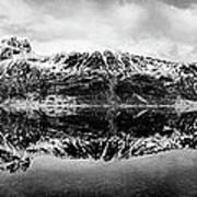 Mountain Reflection Print by Dave Bowman