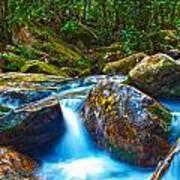 Mountain Streams Art Print