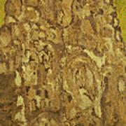 Mountain Temple  Art Print by Oscar Penalber