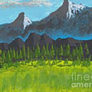 Mountain Vista Art Print