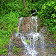 Mountain Waterfall II Art Print