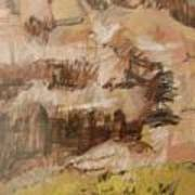 Mountains At The Dead Sea Art Print