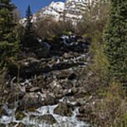 Mountains Co Maroon Creek 2 Art Print