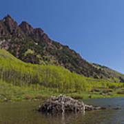 Mountains Co Maroon Lake 4 Art Print