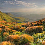 Mountains Landscape Print by Boon Mee