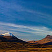 Mountains Of Assynt Panorama Art Print