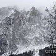 Mountains Of Austria Art Print