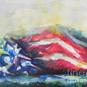 Mountains Of Freedom Art Print