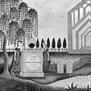 Mourning C1815 Art Print